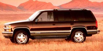 1998 CHEVROLET TAHOE 1500 4-Speed AT 57L 8 Cylinder Engine Rear Wheel Drive Cruise Control G