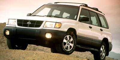 1999 SUBARU FORESTER L RA PKG AWD 25L 150 SOHC 16-valve 4-cyl 165hp All-wheel drive Split fol