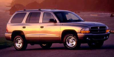 1999 DODGE DURANGO 4-Speed AT 52L 8 Cylinder Eng 4-Speed AT 52L 8 Cylinder Engine Rear Wheel