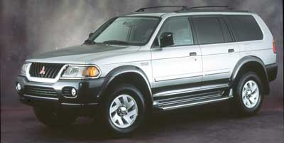 2000 MITSUBISHI MONTERO 4DR LS 4-Speed AT 30L V6 Cylinder Engine Rear Wheel Drive Cruise Cont
