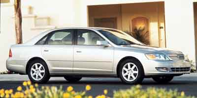 2000 TOYOTA AVALON 4-Speed AT 30L V6 Cylinder En 4-Speed AT 30L V6 Cylinder Engine Front Whe