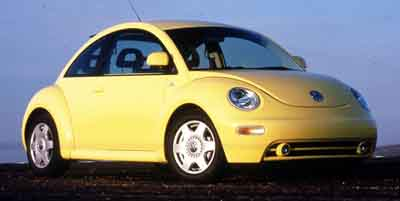 2000 VOLKSWAGEN NEW BEETLE COUPE GLX TURBO 18L 4 Cylinder Engine Front Wheel Drive AMFM Stereo