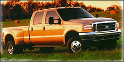 2001 FORD SUPER DUTY F-350 DRW CREW CAB 73l 444 di v8 turbo-diesel power stroke Rear wheel dri