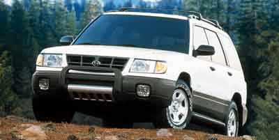 2001 SUBARU FORESTER 4-Speed Automatic 25L H4 SMPI 4-Speed Automatic 25L H4 SMPI SOHC All Whee