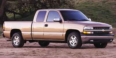 2001 CHEVROLET SILVERADO 1500 EXT CAB 4-Speed AT 53L 8 Cylinder Engine Rear Wheel Drive Third