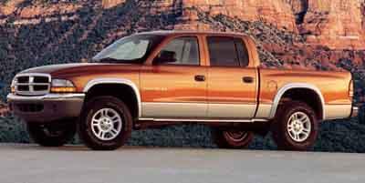 2001 DODGE DAKOTA QUAD CAB 131 WB 4WD 47L 8 Cylinder Engine Four Wheel Drive Gasoline Fuel Pow