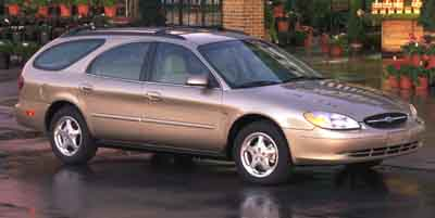 2001 FORD TAURUS 4-Speed AT 30L V6 Cylinder En 4-Speed AT 30L V6 Cylinder Engine Front wheel