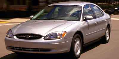 2001 FORD TAURUS SEDAN SEL 4-Speed AT 30L DOHC SMPI 24-valve V6 Duratec Front wheel drive 6-p
