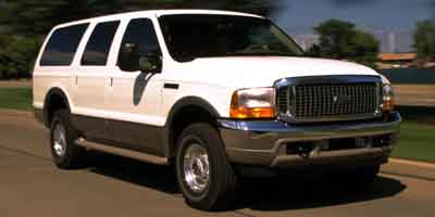 2001 FORD EXCURSION 4-Speed AT 68L 10 Cylinder En 4-Speed AT 68L 10 Cylinder Engine Rear Whe