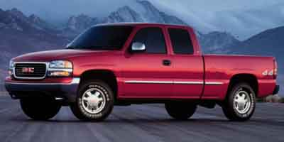 2001 GMC SIERRA 1500 4-Speed AT 53L 8 Cylinder Eng 4-Speed AT 53L 8 Cylinder Engine Four Whe