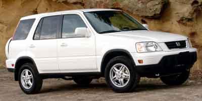 2001: Honda, CR-V, SE