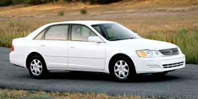 2001 TOYOTA AVALON 4-Speed AT 30L V6 Cylinder En 4-Speed AT 30L V6 Cylinder Engine Front Whe