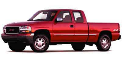 2002 GMC SIERRA 1500 4-Speed AT 53L 8 Cylinder Eng 4-Speed AT 53L 8 Cylinder Engine Four Whe
