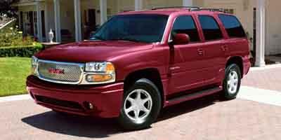 2002 GMC YUKON DENALI AWD 4-Speed AT 60L 364 SFI V8 Vortec All-wheel drive 3-passenger 60