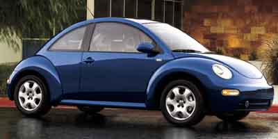 2002 VOLKSWAGEN NEW BEETLE COUPE GLS 20L SOHC SMPI I4 Front wheel drive Full-folding rear bench