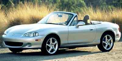 2002 MAZDA MX-5 MIATA CONVERTIBLE 18L 4 Cylinder Engine Rear Wheel Drive Bucket Seats AC Gas