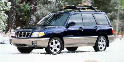 2002 SUBARU FORESTER 4-Speed Automatic with Overdrive 4-Speed Automatic with Overdrive 25L H4 SMP