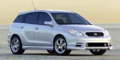 2003 TOYOTA MATRIX WAGON 18L 4 Cylinder Engine Front Wheel Drive AC Gasoline Fuel Power Stee
