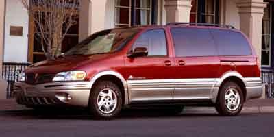 2003 PONTIAC MONTANA 4-Speed AT 34L V6 Cylinder En 4-Speed AT 34L V6 Cylinder Engine Front W