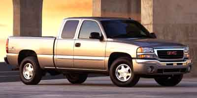 2003 GMC SIERRA 1500 4-Speed AT 48L 8 Cylinder Eng 4-Speed AT 48L 8 Cylinder Engine Rear Whe