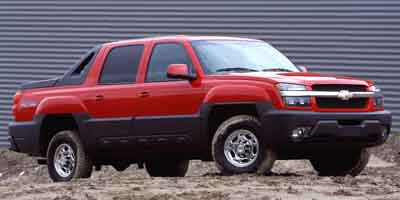 2003 CHEVROLET AVALANCHE 1500 4WD CREW CAB 4-Speed AT 53L 8 Cylinder Engine Four wheel drive