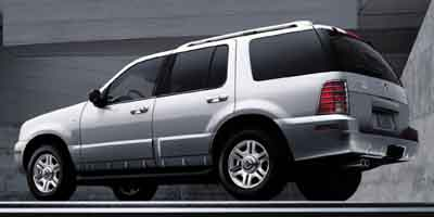 2003 MERCURY MOUNTAINEER 5-Speed AT 46L 8 Cylinder Eng 5-Speed AT 46L 8 Cylinder Engine Rear
