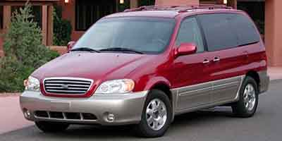 2003 KIA SEDONA 5-Speed Automatic with Overdrive 5-Speed Automatic with Overdrive 35L V6 MPI DOHC