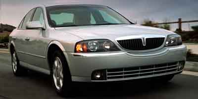2003 LINCOLN LS 5-Speed AT 39L 8 Cylinder Eng 5-Speed AT 39L 8 Cylinder Engine Rear Wheel Dr