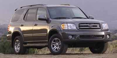 2003 TOYOTA SEQUOIA LIMITED 4-Speed AT 47L DOHC SFI 32-valve V8 i-Force Rear wheel drive Fron