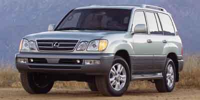 2003: Lexus, LX 470