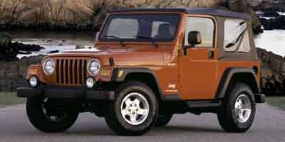 2003 JEEP WRANGLER SPORT 40l straight 6 cylinder engine command-trac part-time 4wd 4-speakers