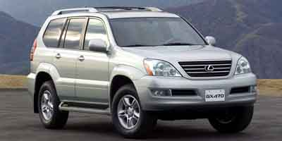 2003 LEXUS GX 470 5-Speed AT 47L 8 Cylinder Eng 5-Speed AT 47L 8 Cylinder Engine Four Wheel