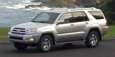 2003 TOYOTA 4RUNNER 4-Speed Automatic with Overdrive 4-Speed Automatic with Overdrive 40L V6 SMPI