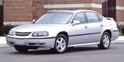 2003 CHEVROLET IMPALA 4-Speed AT 34L V6 Cylinder En 4-Speed AT 34L V6 Cylinder Engine Front