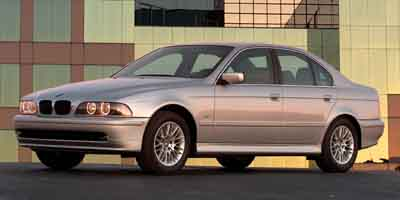 2003 BMW 530I 5-Speed AT 30L Straight 6 Cyl 5-Speed AT 30L Straight 6 Cylinder Engine Rear W