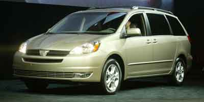 2004 TOYOTA SIENNA 5-Speed AT 33L V6 Cylinder En 5-Speed AT 33L V6 Cylinder Engine Front Whe