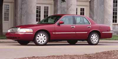 2004 MERCURY GRAND MARQUIS 4-speed at 46l 8 cylinder eng 4-speed at 46l 8 cylinder engine re
