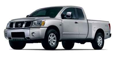 2004 NISSAN TITAN 5-Speed AT 56L 8 Cylinder Eng 5-Speed AT 56L 8 Cylinder Engine Rear Wheel