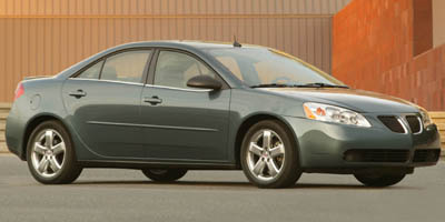 2005 PONTIAC G6 4-Speed AT 35L V6 Cylinder En 4-Speed AT 35L V6 Cylinder Engine Front Wheel