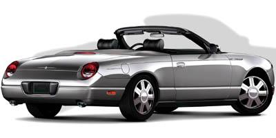2005 FORD THUNDERBIRD CONVERTIBLE Automatic 39L DOHC SMPI 32-valve aluminum V8 Rear wheel drive