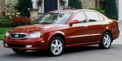 2005 SUZUKI VERONA SEDAN 4-Speed AT 25L Straight 6 Cylinder Engine Front Wheel Drive AMFM St