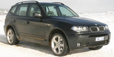 2005 BMW X3 30I AWD SUV 30L DOHC 24-valve I6 wvariable valve timing xDrive all-wheel drive sys