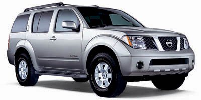 2005 NISSAN PATHFINDER 5-Speed AT 40L V6 Cylinder En 5-Speed AT 40L V6 Cylinder Engine Rear