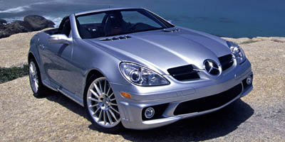 2005 MERCEDES-BENZ SLK350 ROADSTER 35L 35L DOHC SMPI 24-valve V6 Rear wheel drive 8-way adjust