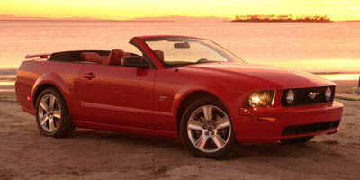 2005 FORD MUSTANG CONVERTIBLE 40l sohv v6 Rear wheel drive Rear bench seat Center console-inc