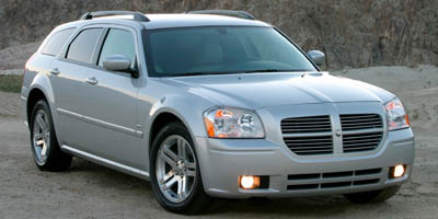 2006 DODGE MAGNUM WAGON RT AWD 5-Speed AT 57L 8 Cylinder Engine All Wheel Drive Bucket Seats