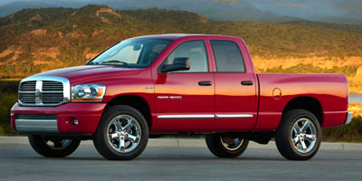 2006 DODGE RAM 1500 5-Speed Automatic HEMI 57L V8 5-Speed Automatic HEMI 57L V8 Multi Displacem