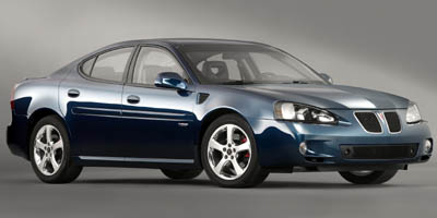 2006 PONTIAC GRAND PRIX SEDAN 4-Speed AT 38l 3800 series iii v6 sfi with electronic throttle c