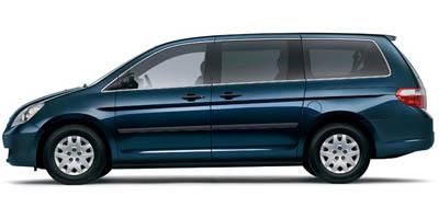 2006 HONDA ODYSSEY LX 5-Speed AT 35L SOHC MPFI 24-valve VTEC V6 Front wheel drive Adjustable