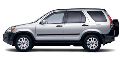 2006 HONDA CR-V 5-Speed AT 24L DOHC MPFI 16-v 5-Speed AT 24L DOHC MPFI 16-valve i-VTEC I4 Re